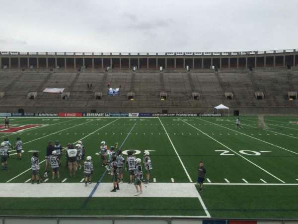 Harvard Stadium, section: 29, row: N, seat: 10