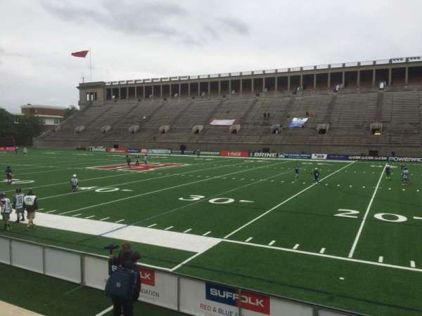 Harvard Stadium, section: 28, row: N, seat: 14