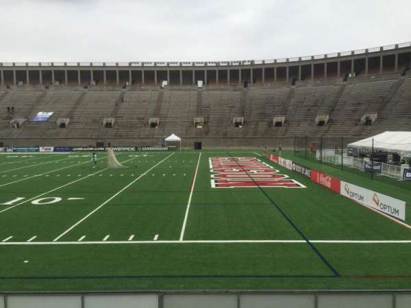 Harvard Stadium, section: 26, row: N, seat: 14