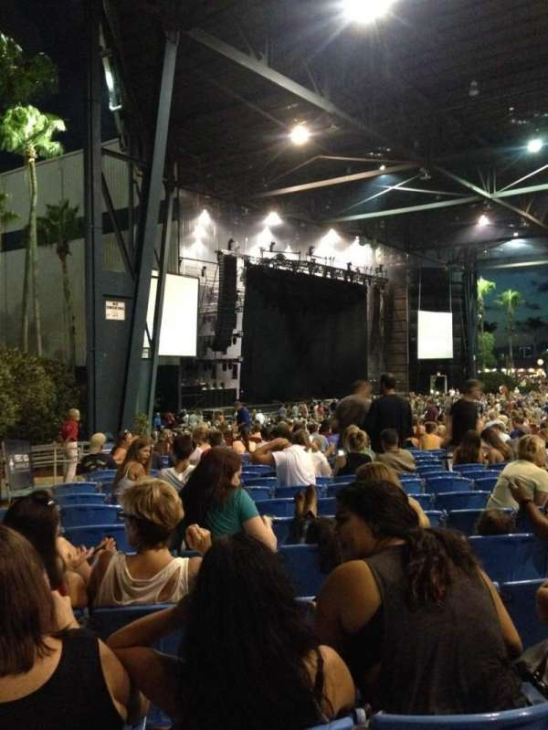 iThink Financial Amphitheatre, section: 8, row: U, seat: 40