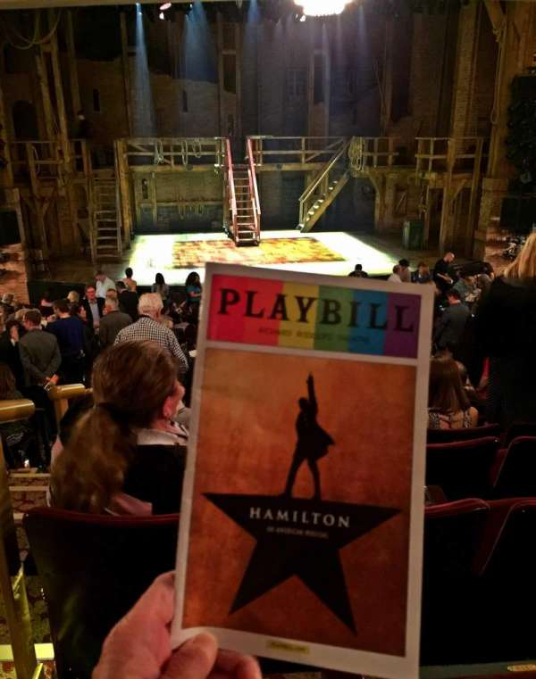 Richard Rodgers Theatre, section: Orchestra C, row: S, seat: 113