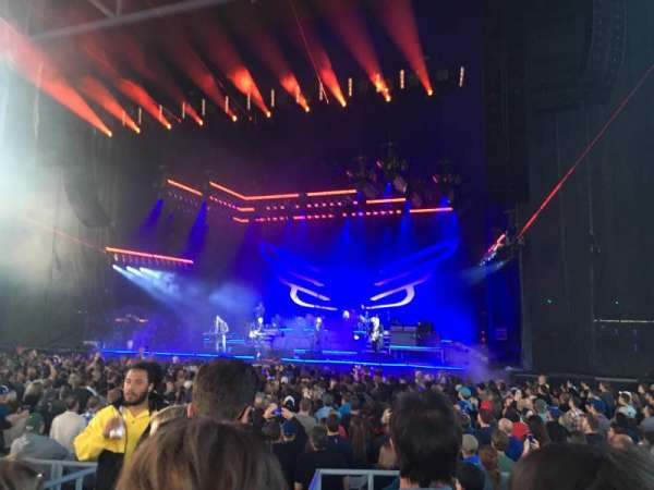 Budweiser Stage, section: 201, row: G, seat: 35