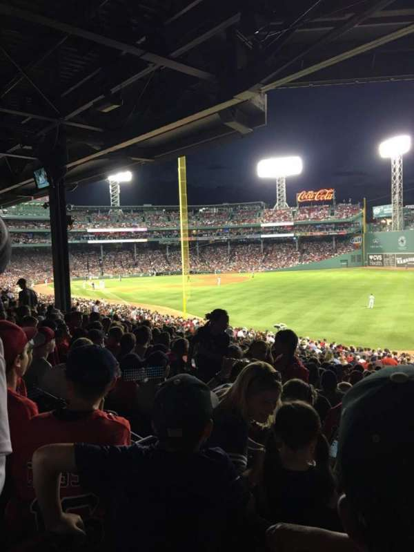Fenway Park, section: Grandstand 5, row: 8, seat: 1