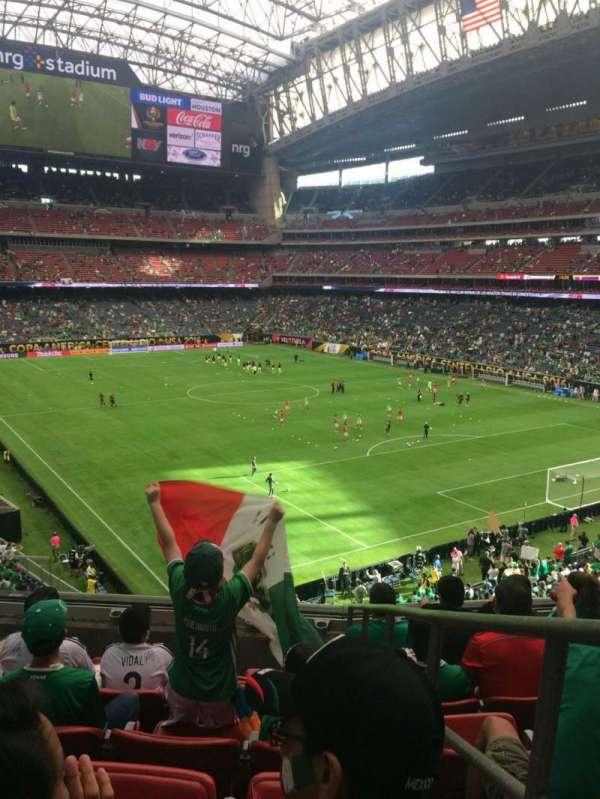 NRG Stadium, section: 329, row: F, seat: 1