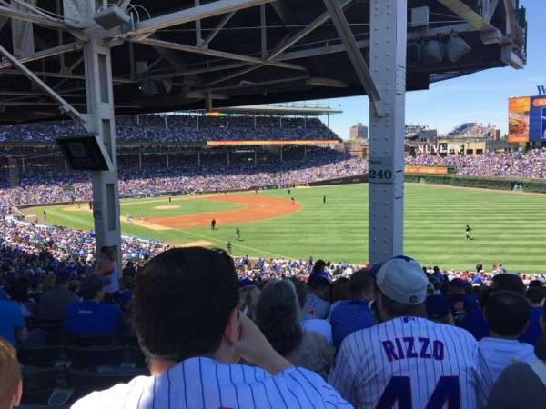 Wrigley Field, section: 240, row: 27, seat: 109