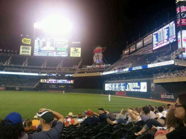 Target Field, section: 103, row: 11, seat: 14