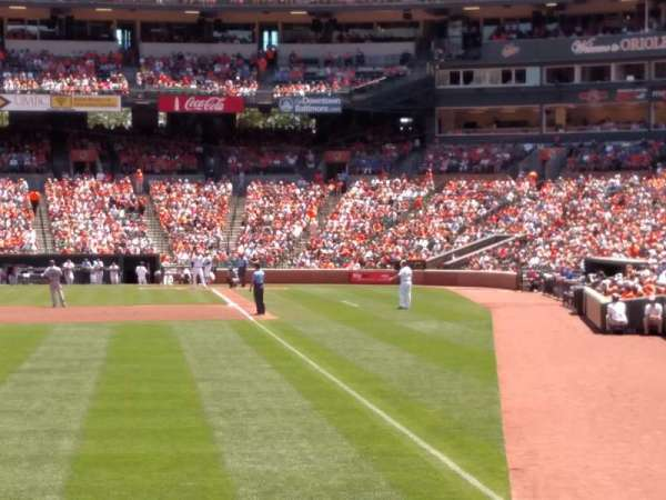 Oriole Park at Camden Yards, section: 74, row: 4, seat: 12