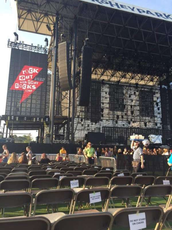 Hershey Park Stadium, section: C, row: 15, seat: 7