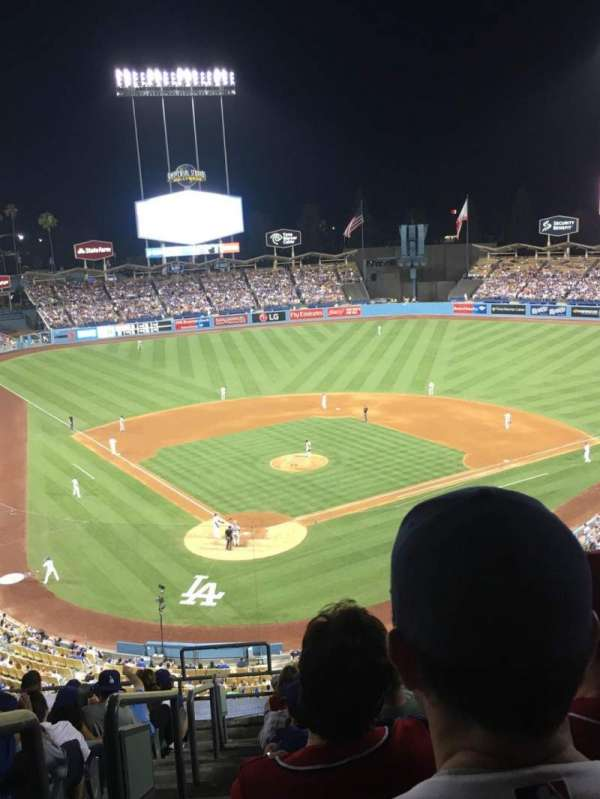 Dodger Stadium, section: 4RS, row: M, seat: 1