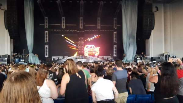 PNC Music Pavilion, section: 2, row: V, seat: 23