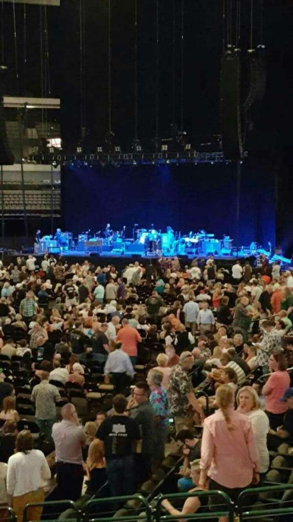 American Airlines Center, section: 110, row: M, seat: 13