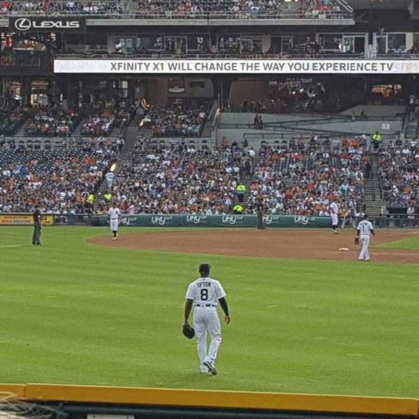 Comerica Park, section: 147, row: E, seat: 8