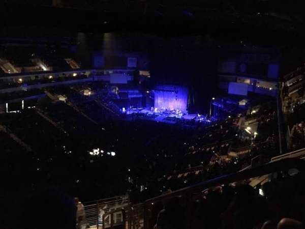 Denny Sanford Premier Center, section: 208, row: L, seat: 1