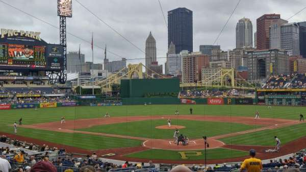 PNC Park, section: 117, row: V, seat: 3