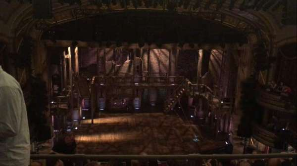 Richard Rodgers Theatre, section: Rear Mezzanine C, row: B, seat: 112