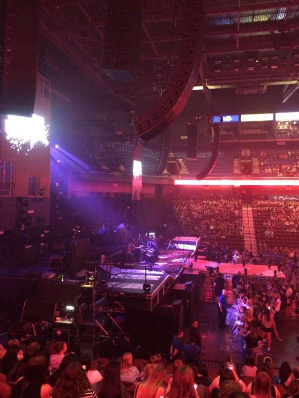 Mohegan Sun Arena, section: 26, row: Q, seat: 4
