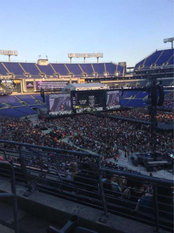 M&T Bank Stadium, section: 247, row: 2, seat: 2