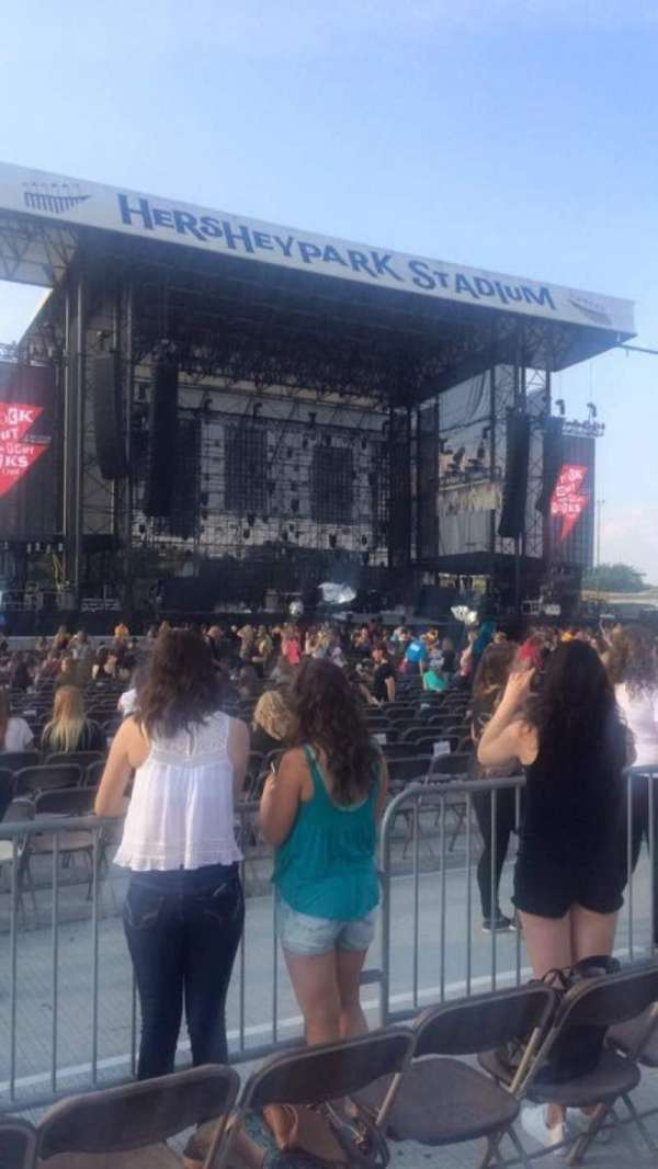 Hershey Park Stadium, section: E, row: 36, seat: 36