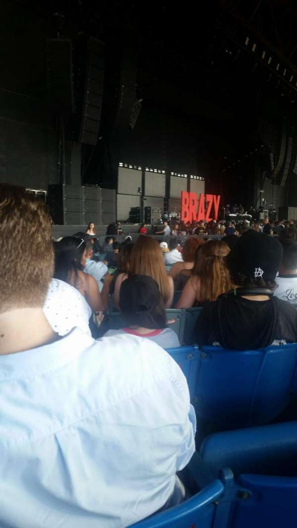 Dos Equis Pavilion, section: 102, row: Y, seat: 36