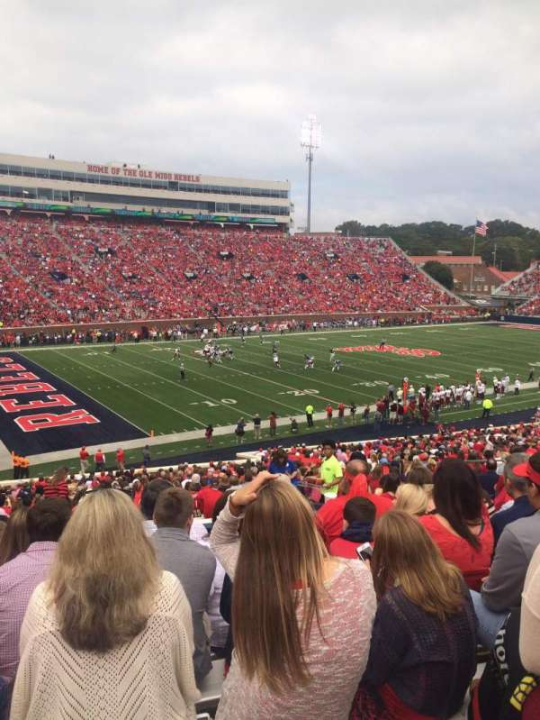 Vaught-Hemingway Stadium, section: R, row: 38