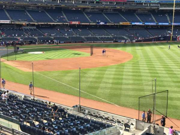 Yankee Stadium, section: 210, row: 1, seat: 14
