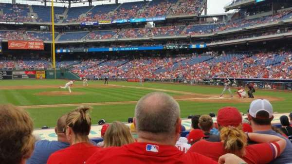 Citizens Bank Park, section: 130, row: 9, seat: 17