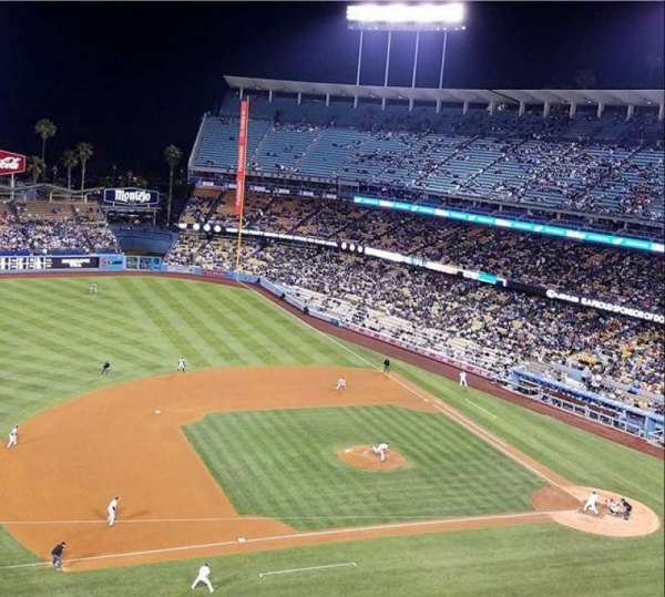 Dodger Stadium, section: 23RS, row: G, seat: 7