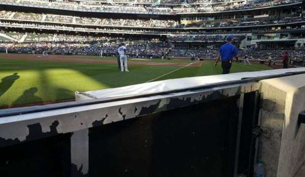 Citi Field, section: 128, row: A, seat: 1