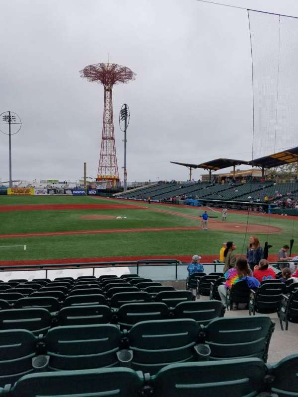 MCU Park, section: 11, row: O, seat: 3