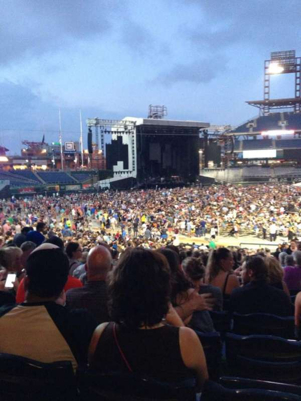 Citizens Bank Park, section: 133, row: 34, seat: 2