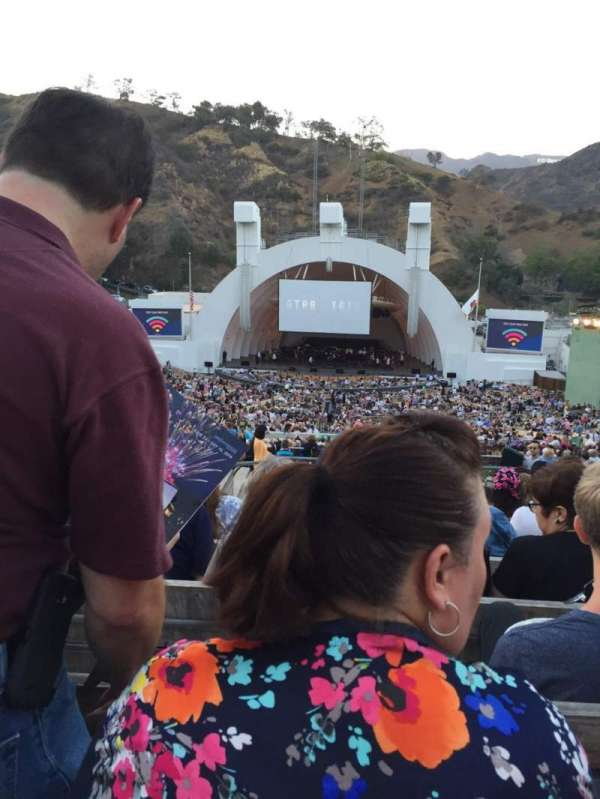 Hollywood Bowl, section: M2, row: 11, seat: 120