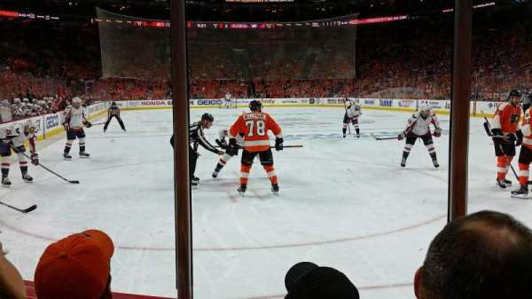 Wells Fargo Center, section: 105, row: 3, seat: 11