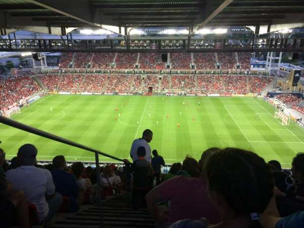 BMO Field, section: 206, row: 35, seat: 30