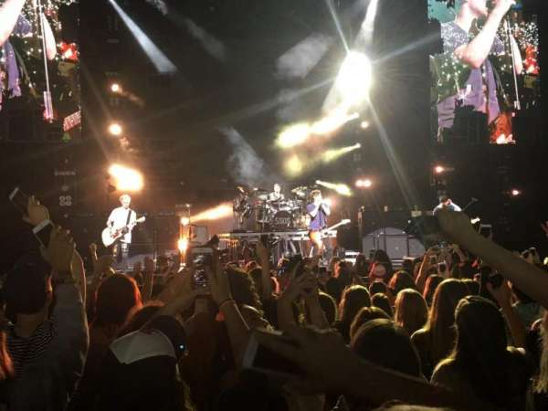 Xfinity Center, section: 2, row: N, seat: 30