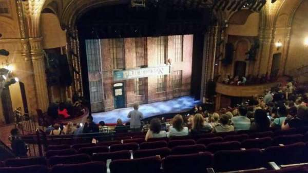Al Hirschfeld Theatre, section: Mezzanine L, row: P, seat: 25