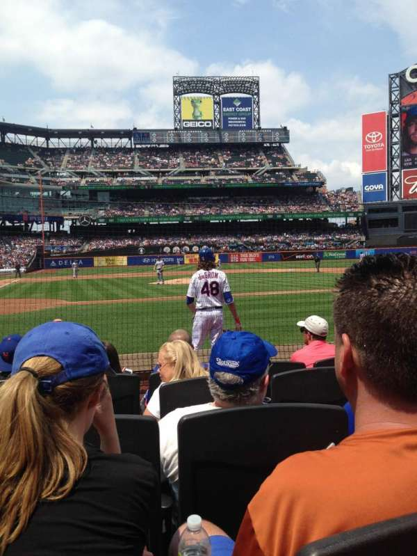 Citi Field, section: 12, row: 5, seat: 4