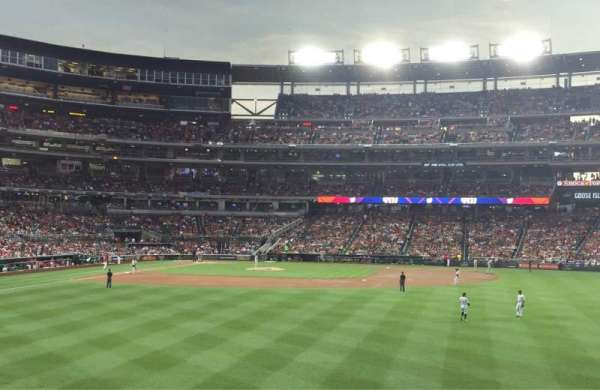 Nationals Park, section: 140, row: F, seat: 6
