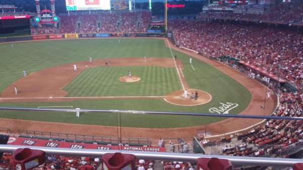 Great American Ball Park, section: 419, row: B, seat: 2