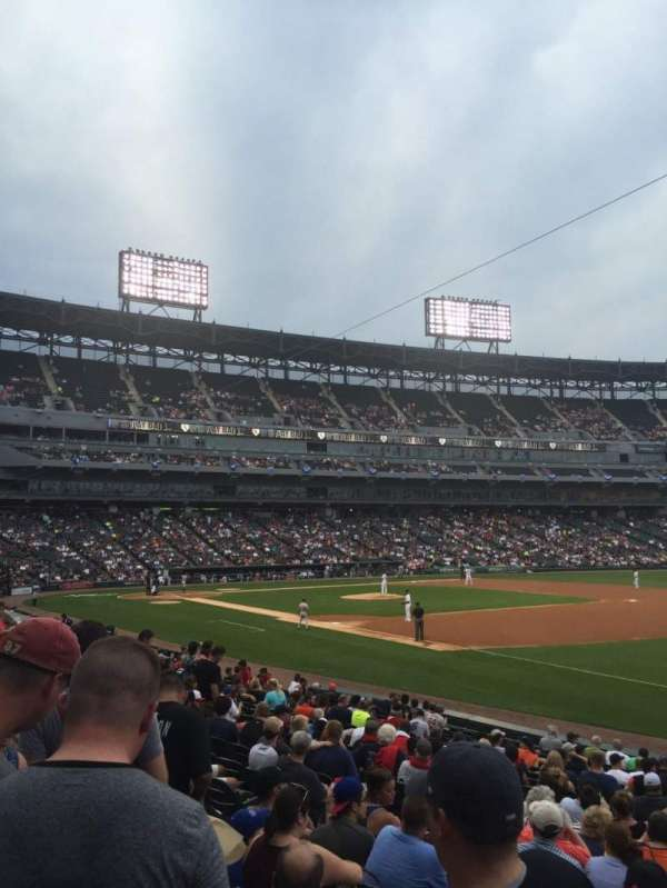 Guaranteed Rate Field, section: 117, row: 19, seat: 1