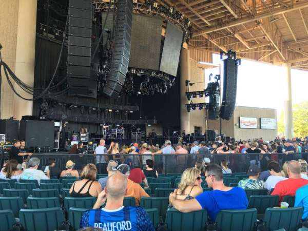 Ruoff Home Mortgage Music Center, section: A, row: W, seat: 20