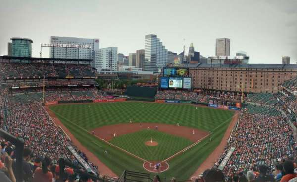 Oriole Park at Camden Yards, section: 336, row: 23, seat: 19