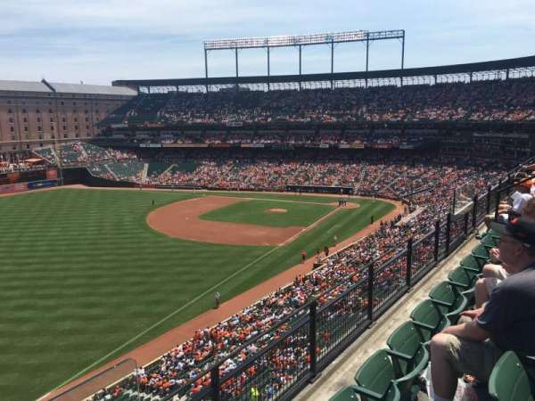 Oriole Park at Camden Yards, section: 372, row: 3, seat: 1