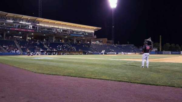Richmond County Bank Ballpark, section: 13, row: A, seat: 2