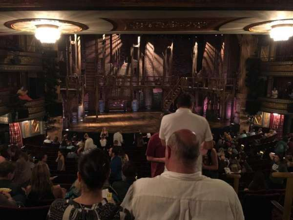 Richard Rodgers Theatre, section: Orchestra L, row: S, seat: 1