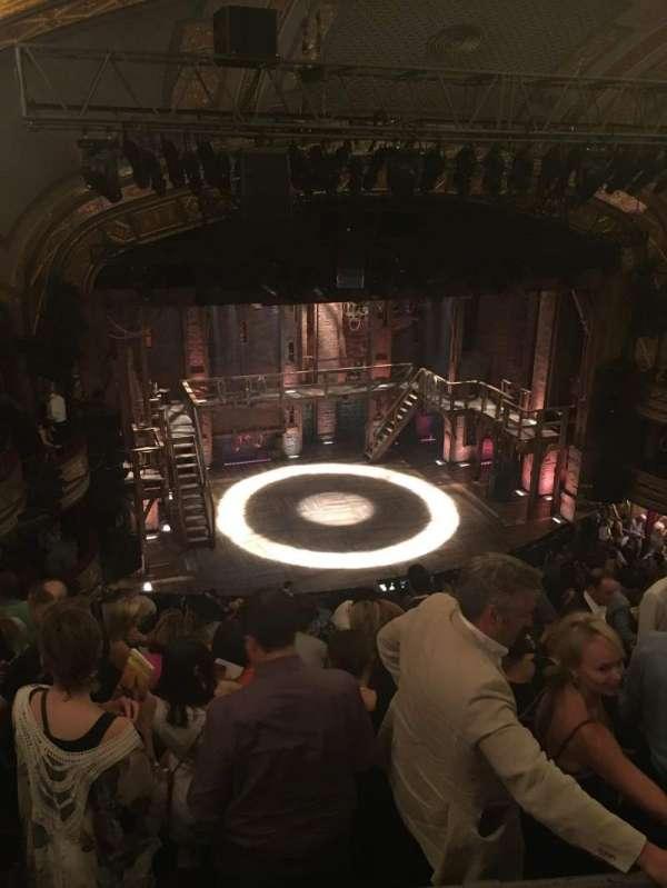 Richard Rodgers Theatre, section: Rear Mezzanine L, row: G