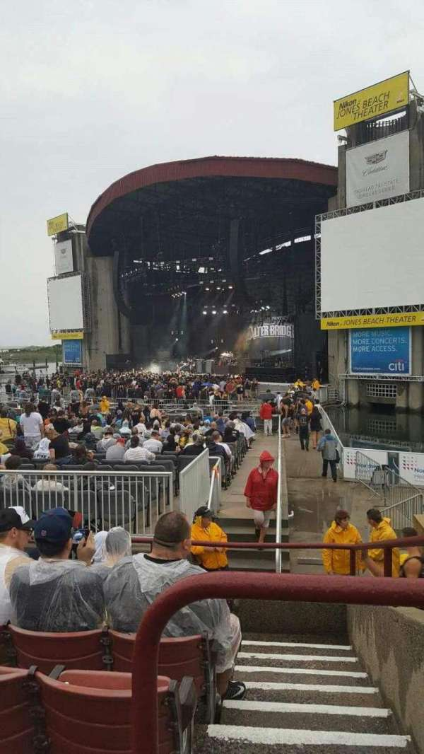 Jones Beach Theater, section: 1, row: G, seat: 2