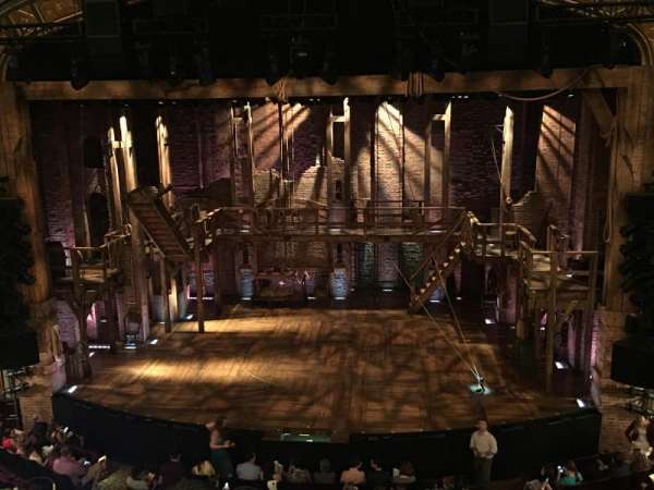 Richard Rodgers Theatre, section: Front Mezzanine C, row: C, seat: 104