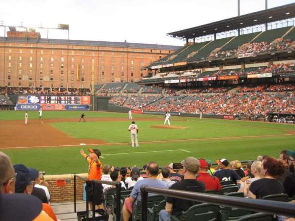 Oriole Park at Camden Yards, section: 56, row: 13, seat: 1