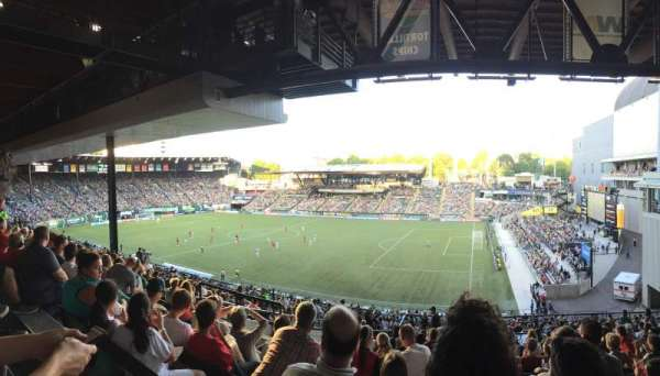 Providence Park, section: 222, row: O, seat: 7