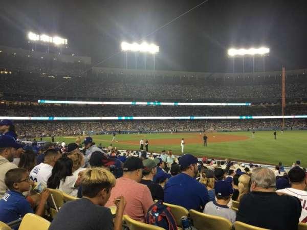 Dodger Stadium, section: 42FD, row: M, seat: 1
